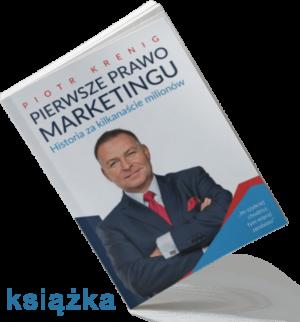 """""""Pierwsze Prawo Marketingu"""" książka"""